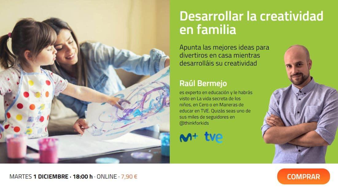 Desarrollar la creatividad en familia