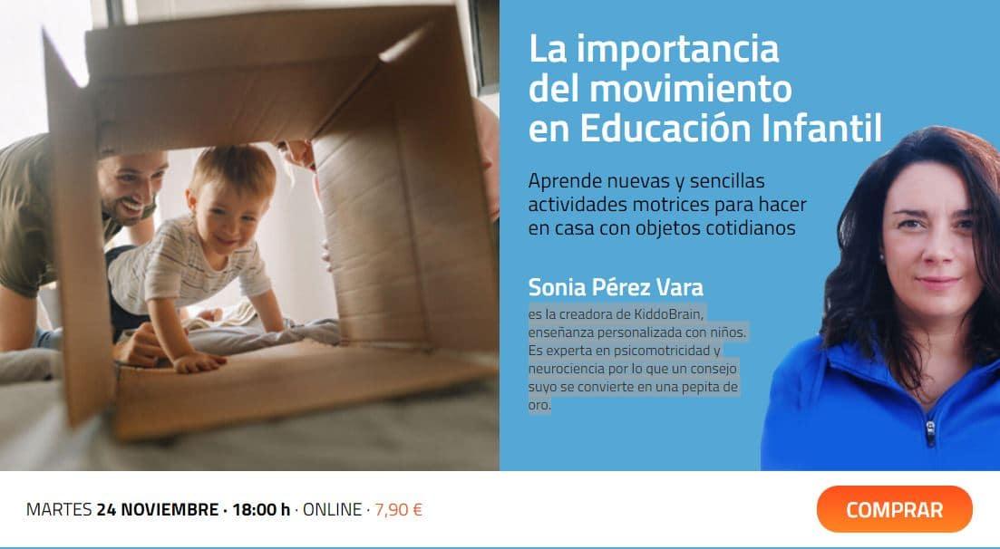 La importancia del movimiento en Educacion infantil